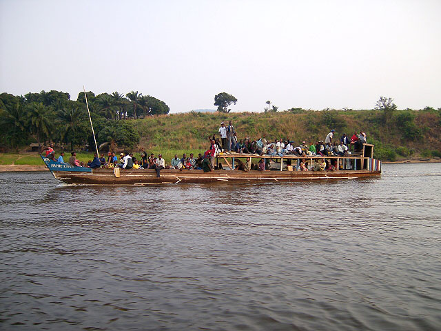 Goliath Tiger Fishing : River Boat: Full Up, DCR Congo